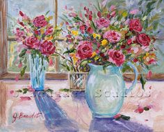 Autumn Blossoms Floral Still Life Print of by JBeaudetStudios, $20.00