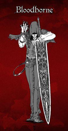 Fanart - Bloodborne by DraconisSoul