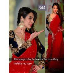 Malika Redrose Net Weightless Bollywood Dress
