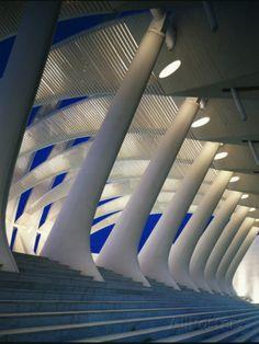 Santiago Calatrava - Kuwait Pavilion Seville Spain - 1991-1992 Print by John Edward Linden