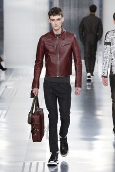 A look from the Louis Vuitton Men's Fall 2015 Fashion Show from Men's Style Director Kim Jones