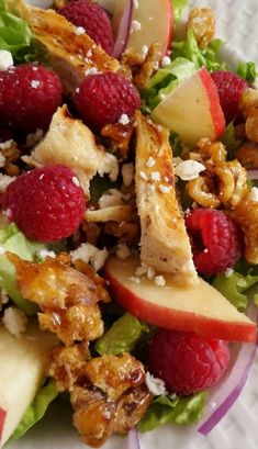 Fresh Raspberry Chicken Salad Recipe