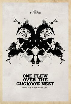 One Flew Over the Cuckoo's Nest - movie poster - Edgar Ascensão