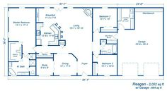 Metal Building Homes For Sale In Texas and photos of Metal Homes Builders Near Me. Metal House Plans, Pole Barn House Plans, Pole Barn Homes, Shop House Plans, Barn Plans, Dream House Plans, Small House Plans, House Floor Plans, Pole Barns