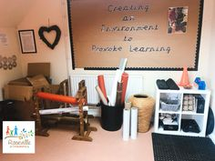 DECONSTRUCTED ROLE PLAY SPACE ❤️  This area is always changing and enhancements added to reflect children's interests. The beauty of this space is that it is brimming with open-ended resources that can be absolutely anything a child wants them to be! flexible spaces.....   #deconstructedroleplay #openendedplay #childcentred #childled #looseparts #recycling #creativity #imaginativeplay #criticalthinking #collaboration #enablingenvironment #construction #engagement #learning #earlyyears