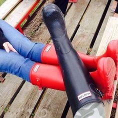 Hunter Wellies, rubber boots