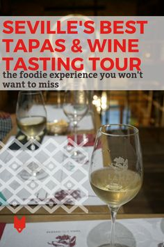 The Seville Tapas & Wine Tasting Experience You Can't Leave Without Trying Wenn Sie Sevilla in Spani Best Tapas, Spanish Wine, Spanish Food, Sherry Wine, Wine Tasting Experience, Tapas Bar, Wine Deals, Cheap Wine, Wine Online