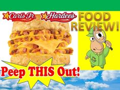 Carl's Jr.® / Hardee's® Double Loaded Omelet Biscuit Review! Peep THIS Out!