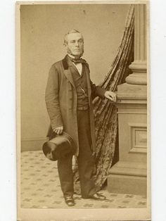 1860 CDV William Russell Brooklyn Merchant by Lewis of New York | eBay