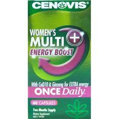 Buy Cenovis Women's Once Daily Multivitamin + Energy 60 Capsules Online at Chemist Warehouse®