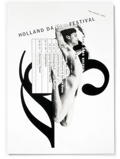 Studio Dumbar: Holland Dance Festival Visual Identity Promotional Campaign (OMG thank you school for allowing me to work with the creative director of Dumbar Studio) Graphic Design Studio, Graphic Design Posters, Graphic Design Illustration, Graphic Design Inspiration, Icon Design, Design Art, Print Design, Graphic Designers, Graphic Art