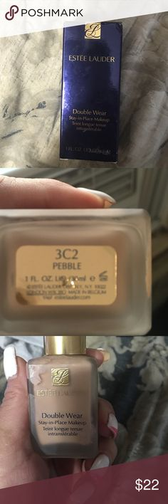 Estée Lauder double wear foundation Used 1x in box Makeup Foundation