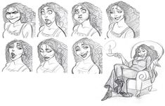 Cartoon Concept Design: TANGLED: sketches and characters Part 4