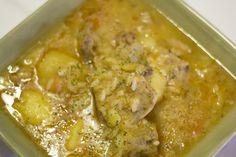 Patatas con costillas y arroz. www.restauranteespadana.es