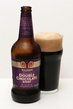 Young's Double Chocolate Stout. Oh my Manta. @Bianca Najera @Joel Anderson