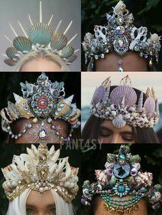 Pinterest: @MagicAndCats ☾ Mermaid crowns