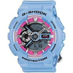 Casio G-Shock GMAS110F-2A Watch