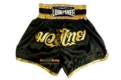 Champ Lumpinee Muay Thai Boxing Shorts Martial Arts - Black/Gold