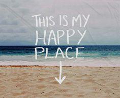 'Happy Place' Fleece Throw