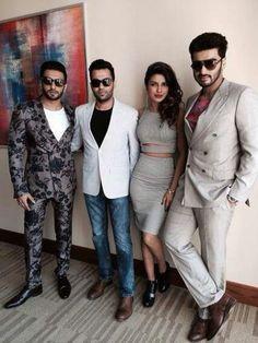 Priyanka Chopra's outfit in Dubai Arjun Kapoor, Shraddha Kapoor, Priyanka Chopra, Bollywood Outfits, Bollywood Actors, Crazy Suits, Indian Star, Mens Fashion Suits, Mens Suits