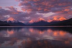 Lake McDonald Sunset - Glacier National Park MT [5680 x 3787]   landscape Nature Photos