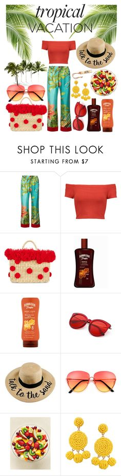 """""""Vacation"""" by rebeccapro ❤ liked on Polyvore featuring F.R.S For Restless Sleepers, Alice + Olivia, Nannacay, Humble Chic and Madewell"""