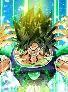 Broly - Powering Up, Dragon Ball Super Dragon Ball Gt, Dragon Art, Photo Dragon, Wallpaper World, Akira, Illustrations, Anime Art, Fanart, Digimon