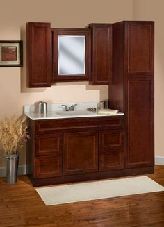 Savannah Ensemble no mirror at Menards  bathroom ideas  Pinterest