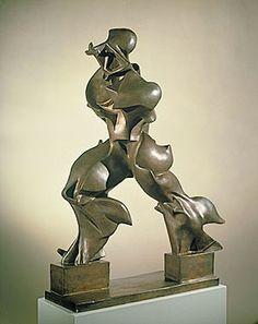 Umberto Boccioni-Unique forms of continuity on space in Tate Gallery Umberto Boccioni, Art Nouveau, Futurism Art, Pollock Paintings, Pop Art, Tate Gallery, Gcse Art, Bronze Sculpture, Modern Sculpture