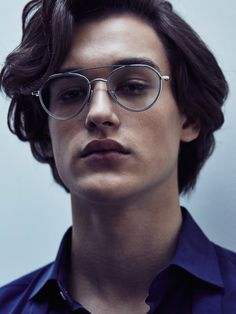 Jegor Venned by Gregory Vaughan Portrait Inspiration, Character Inspiration, Hair Inspiration, John Cheever, Unique Faces, Face Photography, Hair Reference, Mens Glasses, Interesting Faces