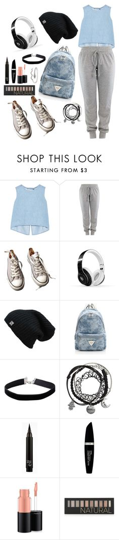 """""""Nice."""" by wolvestyle ❤ liked on Polyvore featuring Steve J & Yoni P, Converse, Beats by Dr. Dre, Miss Selfridge, Max Factor, MAC Cosmetics and Forever 21"""