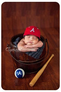 Newborn Baseball theme :)