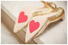 Wedding Hearts | ... quirky wedding ideas ? ♥ Or how about more wedding shoe ideas