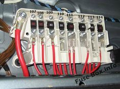 13 Best BMW 5-Series (E39; 1996-2003) fuses and relays ... A Bmw E Fuse Box Location on