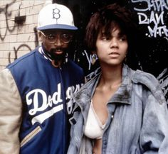 Halle Berry in her 1st role, Jungle Fever, 1991