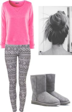 Lazy day outfit idea #5, *legging edition* Xoxo 猫