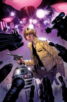 Star Wars #7 by John Cassaday *Star Wars #8 by Stuart Immonen *Darth Vader #8 by Salvador Larroca *Kanaan - The Last Padawan by Mark Brooks *