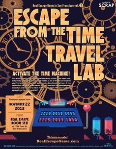 Real Escape Room | Real Escape Game in the U.S | SCRAP Entertainment Inc.