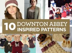 10 Downton Abbey Inspired Patterns---they featured my little outfit and pattern!! Thank you!!! KrissysWonders@etsy.com