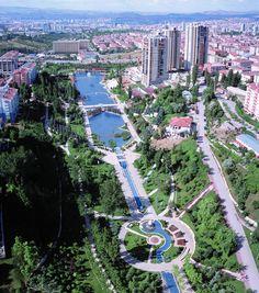 Aerial view of Ankara, Turkey