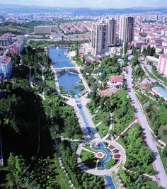 Ankara, the capital city of Turkey.