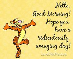 Hello! Good Morning