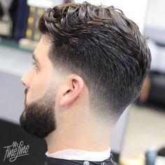 fade haircut for thick wavy hair
