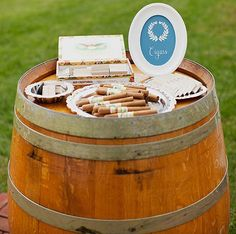cigar bar    # CupcakeDreamWedding