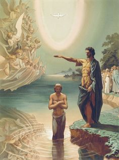 Baptism of Christ, Grigory Gaagarin