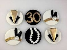 Image result for gatsby cupcake toppers