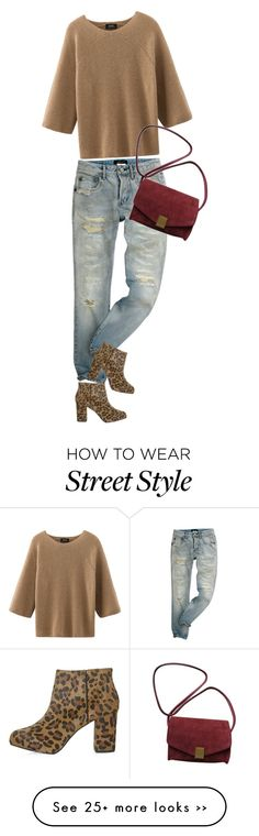 """""""street style"""" by ecem1 on Polyvore featuring Topshop and Zadig & Voltaire"""