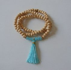 beachcomber triple wrap tassel bracelet  by beachcomberhome, $22.00