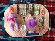 Fidget Quilt Busy Blanket Sensory Tactile Activity by LoveMamaw