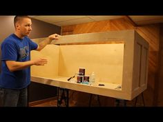 HOW TO: Build a plywood aquarium | Part 1 | Building the tank - YouTube Aquarium Stand, Aquarium Setup, Diy Aquarium, Aquarium Design, Aquarium Fish Tank, Saltwater Tank, Saltwater Aquarium, Freshwater Aquarium, Betta Fish Tank
